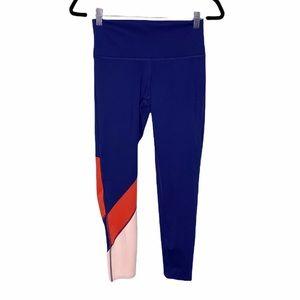 Cotopaxi Mariposa Crop Leggings Navy Blue Orange